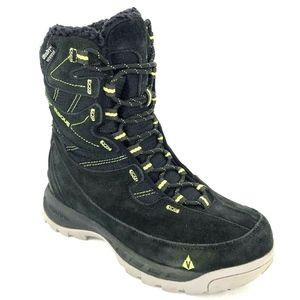 Vasque Womens 6 Pow Pow Black Winter Snow Boots